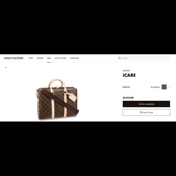 Louis Vuitton Other - Louis Vuitton Icare Bag